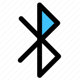 bluetooth, connection, datas icon