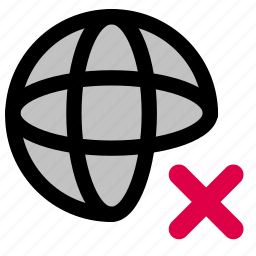 disconnection, internet, network icon