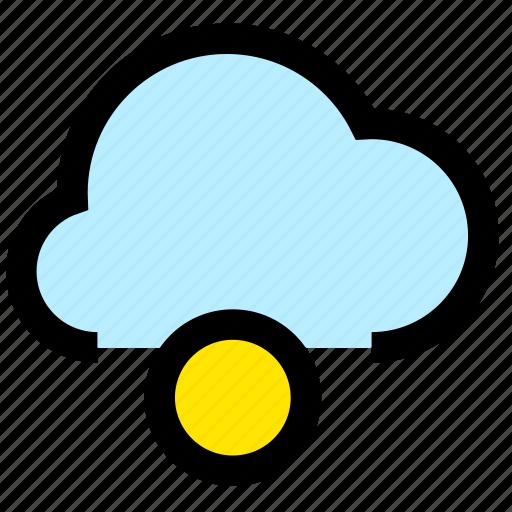 cloud, loading, storage icon
