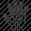 hand, nerves, nervous system, neurology, neurosurgery icon