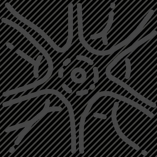 nervous system, neurology, neuron, neurosurgery, synapse icon