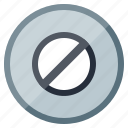 block, disable, no entry, pause, sign, stop, warning icon