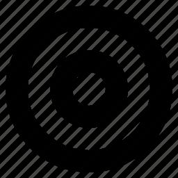 aim, bullseye, goal, marketing, target icon
