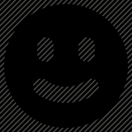 emoji, emoticon, emotion, face, grin, happy, smile icon