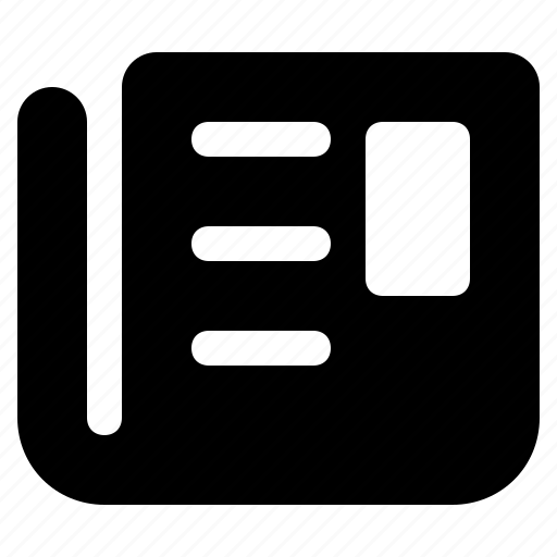 article, breaking, feed, news, newspaper, read, subscribe, updates icon