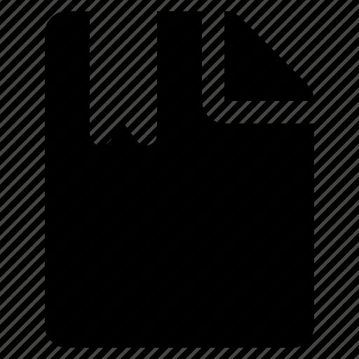 bookmark, document, favorite, file, guardar, ribbon, save icon