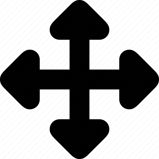 arrow, direction, drag, move icon