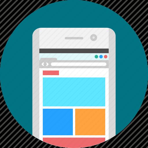 app, browser, browser app, internet, mobile, responsive, website icon