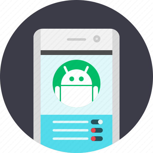 android, app, mobile, settings, system, tool icon