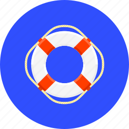 lifebuoy, lifesaver, protect, protection, safe, safety, security icon