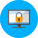 block, browser, online, protected navigation, safe desktop, security, website icon