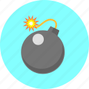 bomb, caution, danger, dynamite, explosion, protection, warning icon