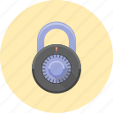 combination, lock, locked, password, protection, safety, security icon