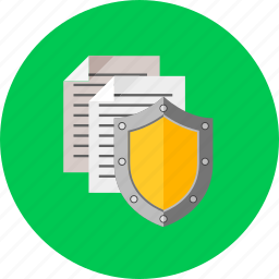 data, database, protection, safety, security, shield, storage icon