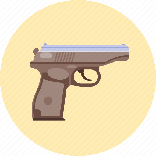 gun, pistol, protect, protection, safety, security, weapon icon