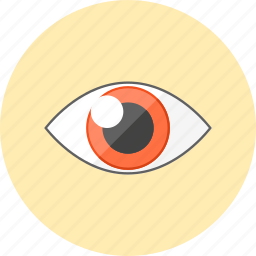 eye, protection, review, search, security, see, vision icon