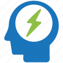 brainstorming, business, business icon, businessman, seo icon