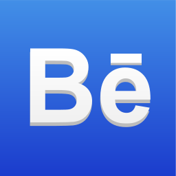 behance, media, online, portfolio, social, social icon, social network icon