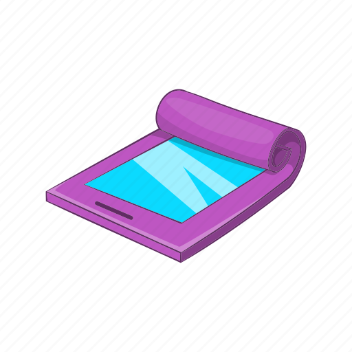 Cartoon, display, flexible, future, screen, tablet icon - Download on Iconfinder