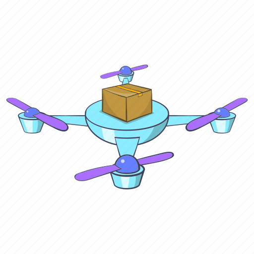 Camera, cartoon, copter, drone, future, quadcopter, video icon - Download on Iconfinder