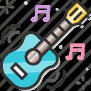 carnival, celebration, festival, guitar, holiday icon