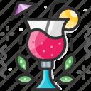 beverage, cocktail, cocktail drink, fruit juice, juice icon