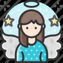 angel, character, costume, fairy, xmas