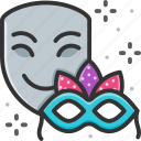 celebration, face mask, mask icon