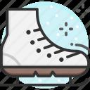 ice skating, skating, winter, skate shoes, ice skates