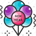 balloon, balloons, celebration, decoration, new year