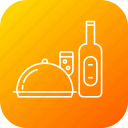 alcohol, celebration, champgne, christmas, dinner, food, party icon
