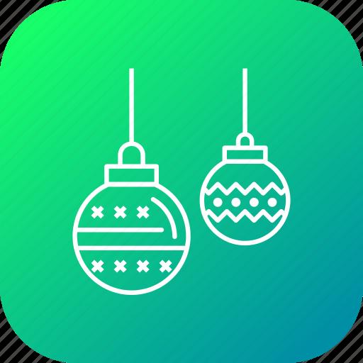 ball, christmas, decoration, disco, party icon