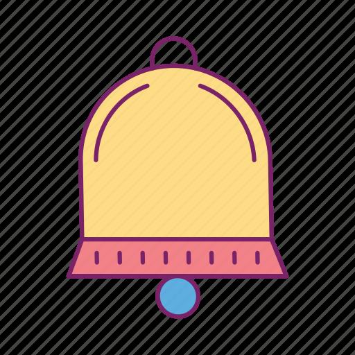 alarm, alert, bell, notification, ring, warning icon