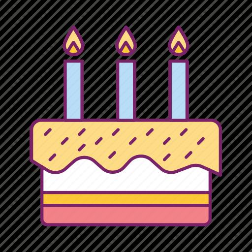 bakery, birthday cake, cake, cooking, food icon