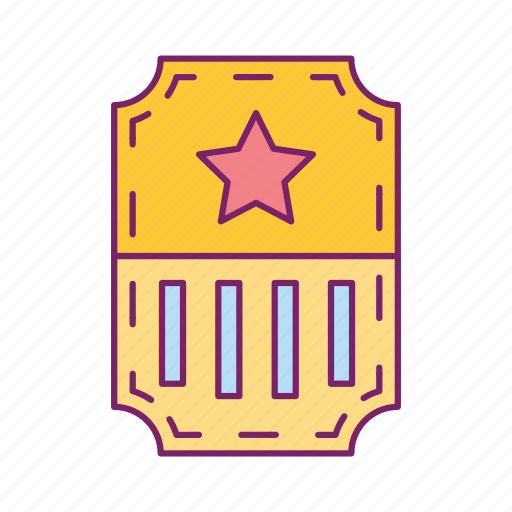 cinema, coupon, event, plane, tickets, transport, vacation icon