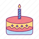 birthday, birthday cake, celebration, festival, gift icon