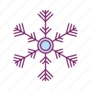 christmas, holiday, ice, snow, snowflakes, weather, winter icon