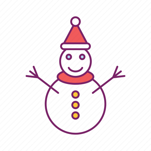 christmas, man, sculpture, snow, snowman, snowperson icon
