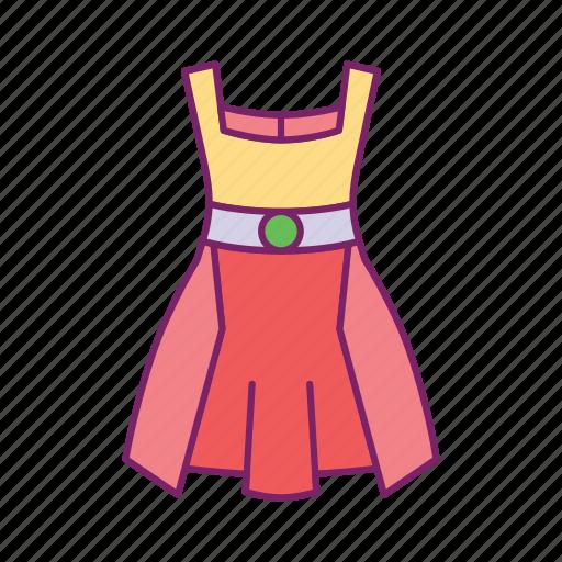 cloth, dress, female, lady, long shirt, style, women icon
