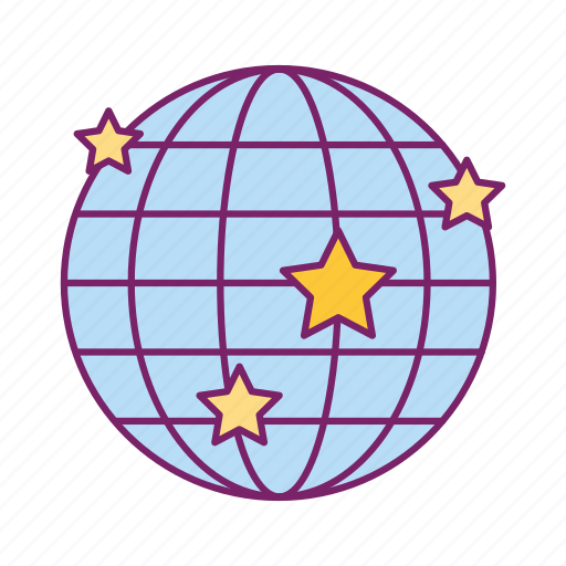 country, flags, internet, map, planet, web, world icon