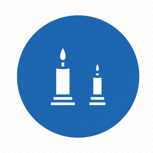 candle, electric, energy, food, heat, hot, light icon