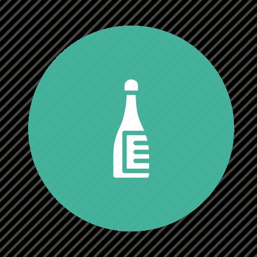 bottle, cup, drink, restaurant, water, wine icon