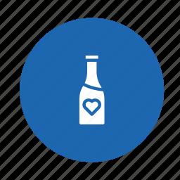 beverage, bottle, drink, food, kitchen, water, wine icon