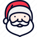 christmas, claus, new, santa, santa claus, xmas, year icon
