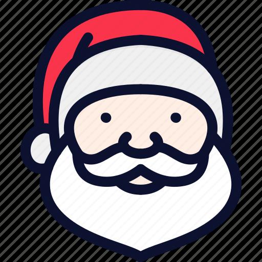 christmas, claus, new, santa, santa claus, xmas, year icon