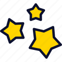 christmas, new, star, stars, xmas, year icon