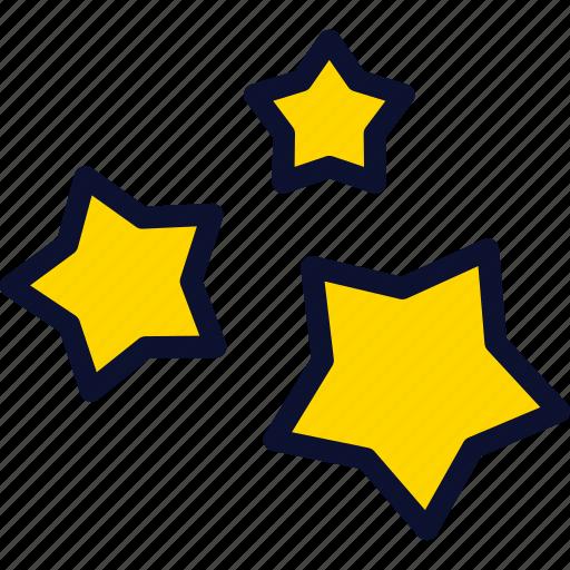 christmas, new, star, stars, xmas, year icon