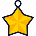 christmas, new, star, xmas, year icon