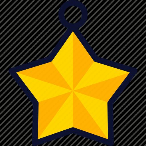 christmas, new, star, xmas, year icon