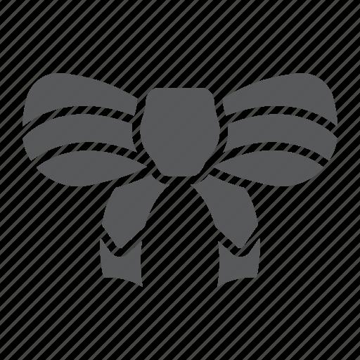 bow, christmas, decor, festive, holiday, knot, ribbon icon